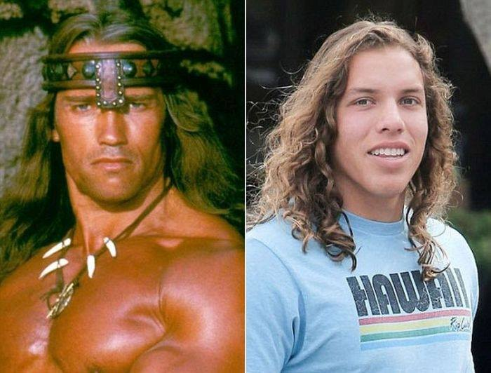 Arnold Schwarzenegger & Joseph Baena