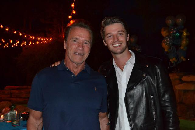 Arnold Schwarzenegger si fiul sau, Patrick Schwarzenegger