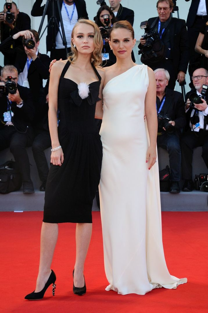 Lily-Rose Depp and Natalie Portman attending the 'Planetarium' Premiere on the Lido in Venice, Italy as part of the 73rd Mostra, Venice International Film Festival on September 08, 2016. Photo by Aurore Marechal/ABACAPRESS.COM