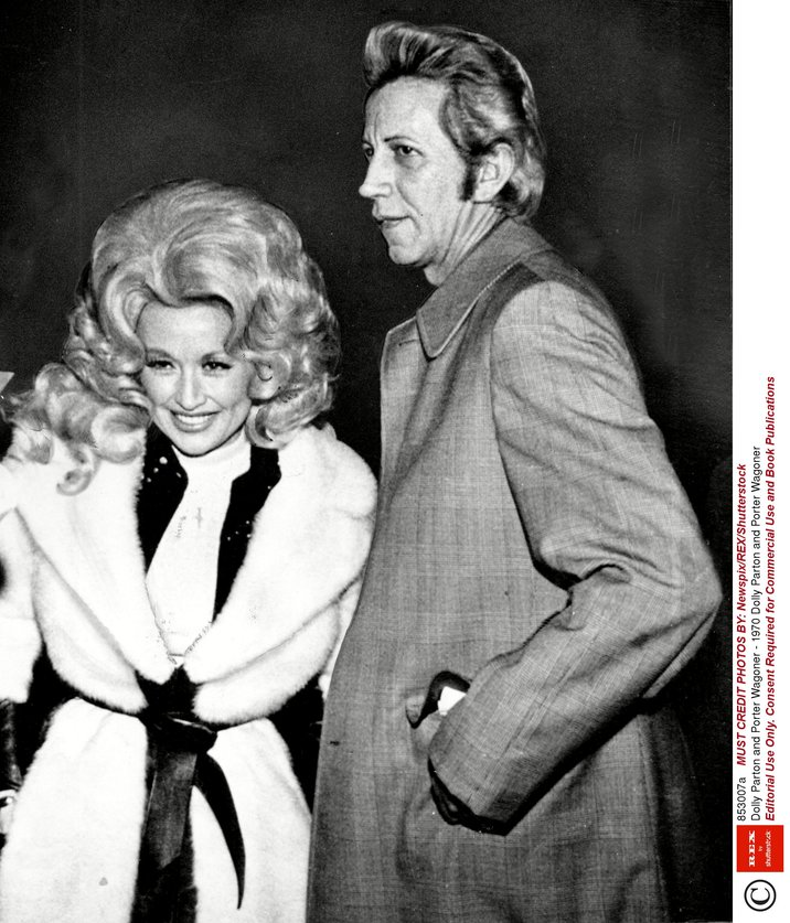 Editorial Use Only. Consent Required for Commercial Use and Book Publications Mandatory Credit: Photo by Newspix/REX/Shutterstock (853007a) Dolly Parton and Porter Wagoner Dolly Parton and Porter Wagoner - 1970