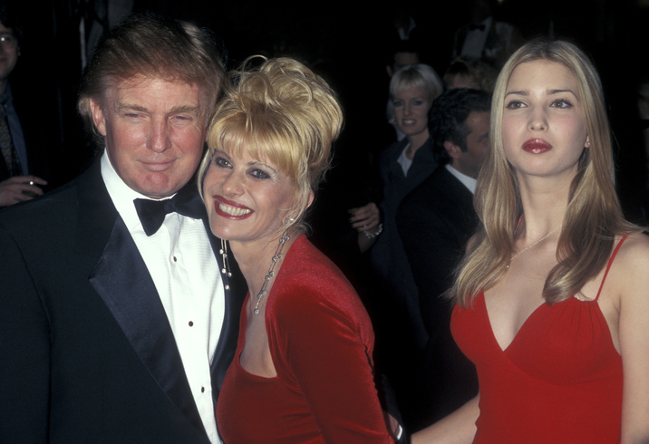 Donald Trump, Ivana Trump, and Ivanka Trump (Photo by Ron Galella/WireImage)