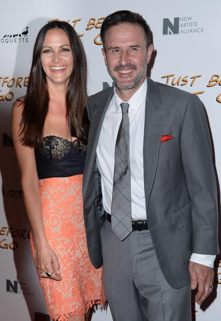 Christina McLarty and David Arquette attend the screening of 'Just Before I Go' at ArcLight Hollywood on April 20, 2015 in Los Angeles, California. Photo by Lionel Hahn/AbacaUsa.com