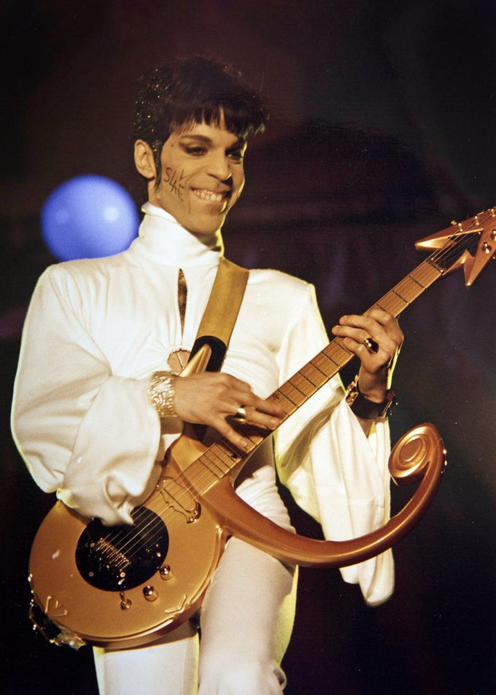 The Artist Formerly Known As Prince. Brabanthallen, Den Bosch, 24.03.1995 Credit: Price/face to face - No rights for Netherlands and Belgium -
