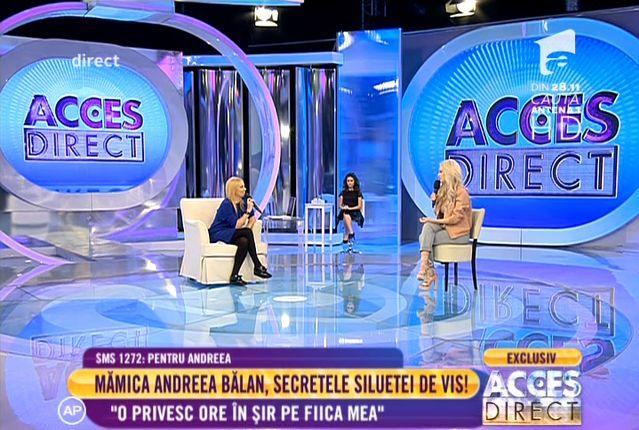 Andreea Balan la Acces Direct 10