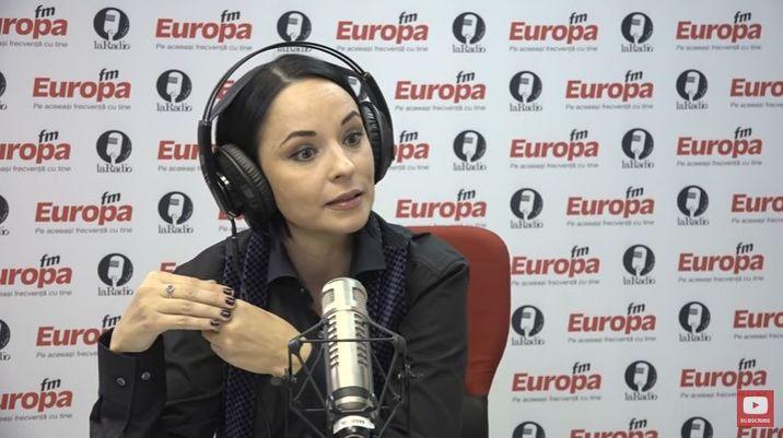 Andreea Marin la Europa FM cu Andreea Esca