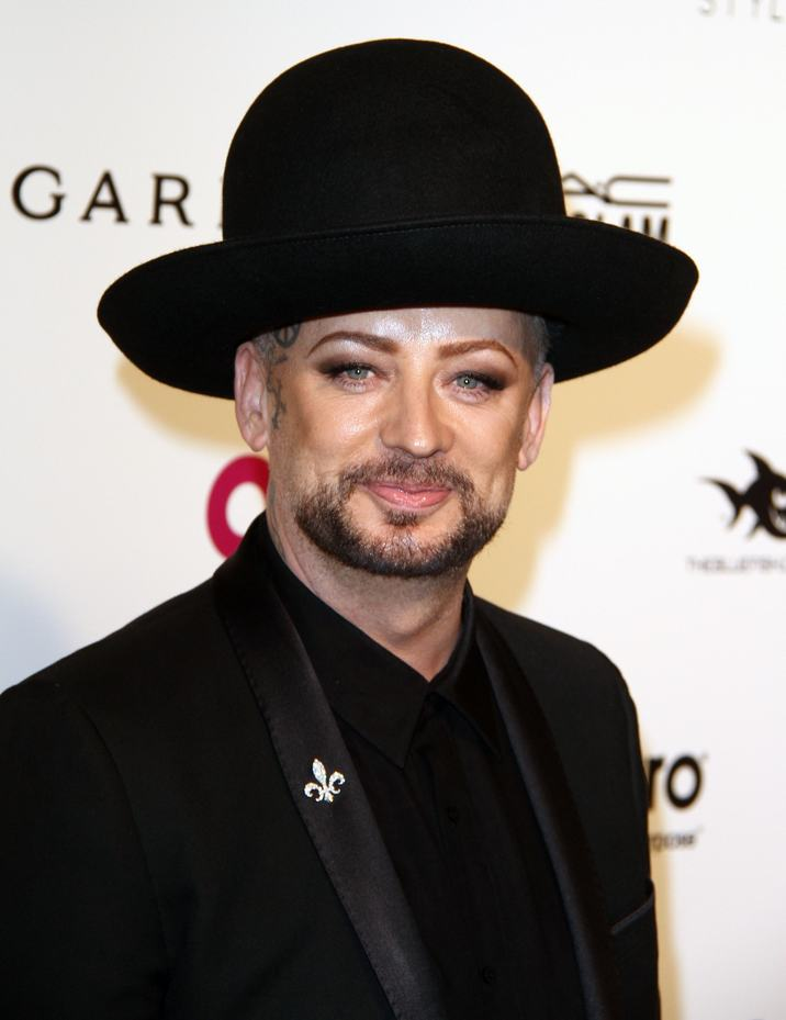 51982537 The 2016 Elton John AIDS foundation Academy Awards Viewing Party held at West Hollywood Park in West Hollywood, California on 2/28/16. The 2016 Elton John AIDS foundation Academy Awards Viewing Party held at West Hollywood Park in West Hollywood, California on 2/28/16. Boy George FameFlynet, Inc - Beverly Hills, CA, USA - +1 (310) 505-9876