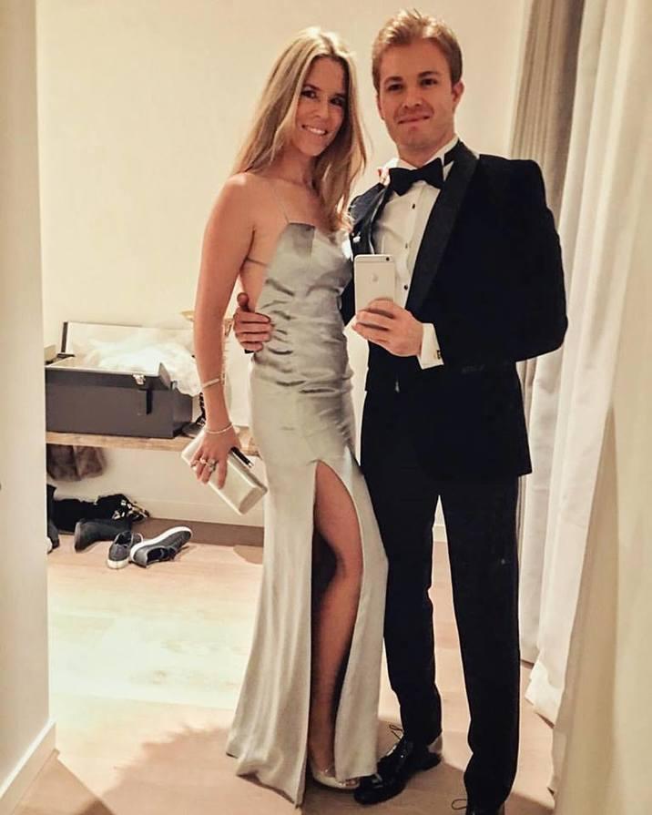 Nico Rosberg si sotia