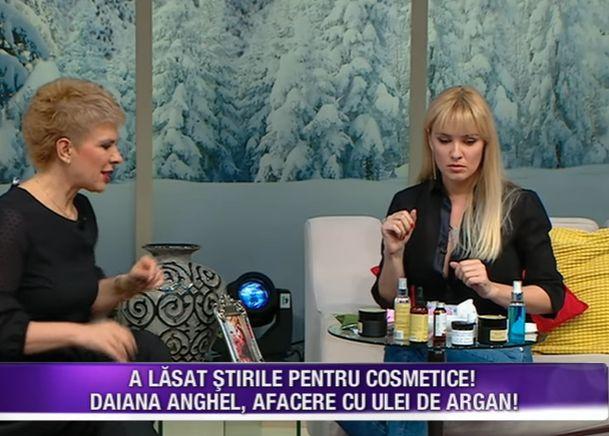 Daiana Anghel creme Teo Show