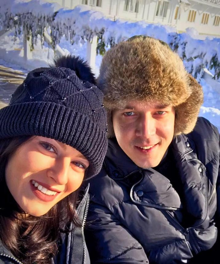 Bianca si Andrei Nastase