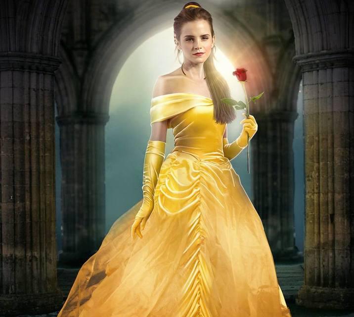 Emma Watson Bella in Beauty and the Beast-Frumoasa si bestia