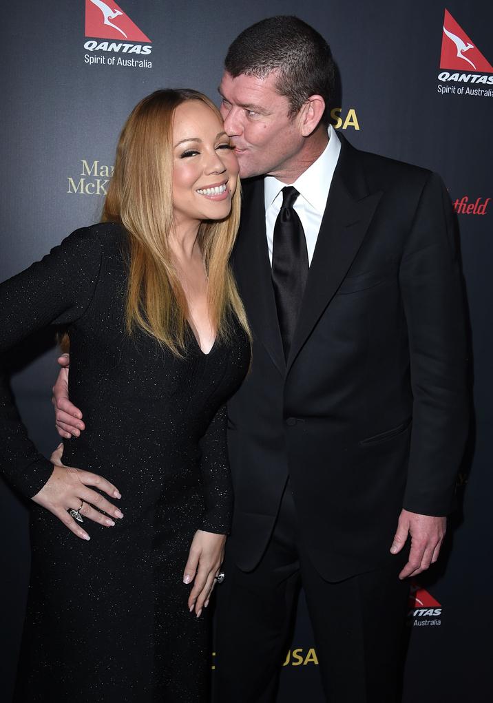 Mariah Carey şi James Packer