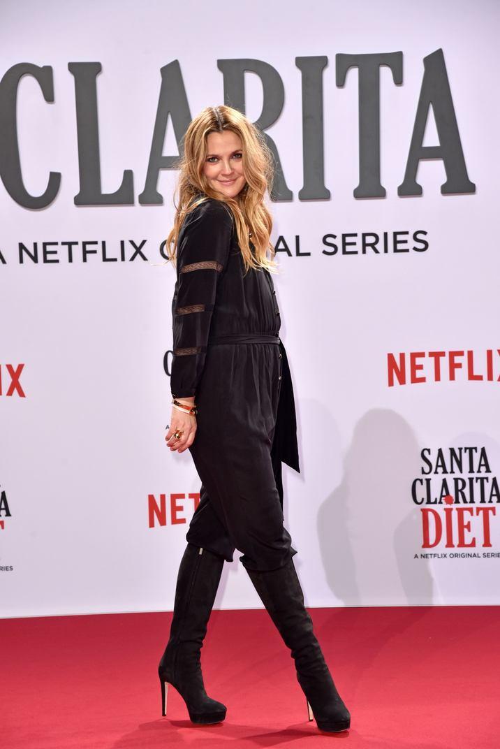 Drew Barrymore at the Netflix Screening of 'SANTA CLARITA DIET' at Cinestar in the Sony Center in Berlin, Germany, 20.01.2017. Credit: NicoleKubelka/face to face