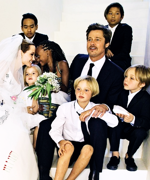 jolie - pitt wedding