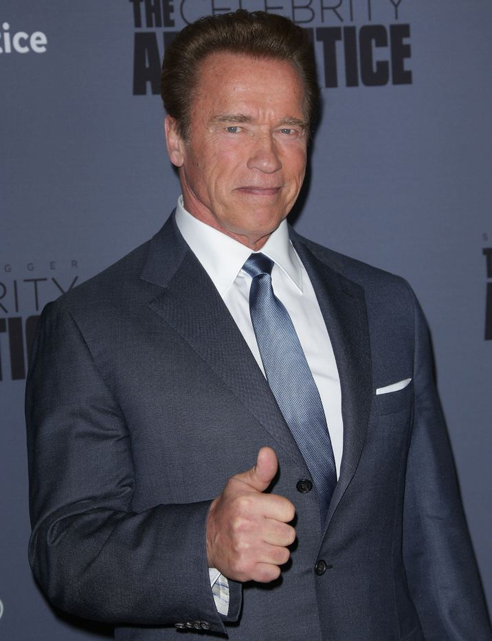 Mandatory Credit: Photo by Jim Smeal/BEI/Shutterstock (7581896dp) Arnold Schwarzenegger 'The New Celebrity Apprentice' TV Show press junket, Los Angeles, USA - 28 Jan 2016