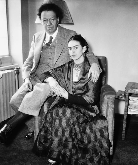 Frida Kahlo, Diego Revera