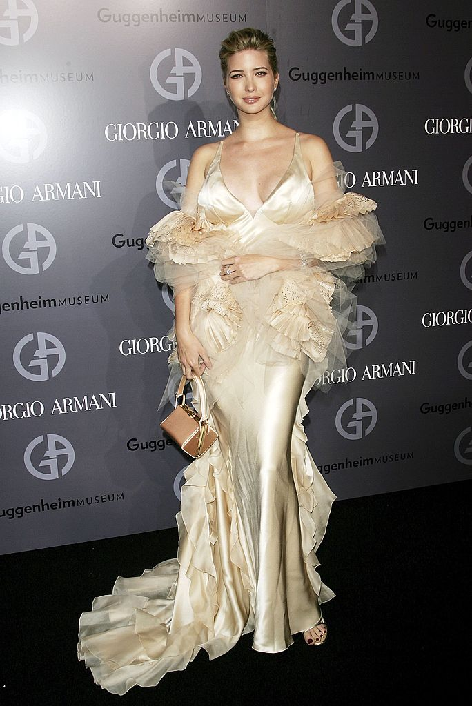 NEW YORK - DECEMBER 14:  Socialite Ivanka Trump attends the Guggenheim Museum's Young Collectors Council 2006 Artist's Ball sponsored by Giorgio Armani at The Solomon R. Guggenheim Museum, December 14, 2006 in New York City.  (Photo by Evan Agostini/Getty Images)