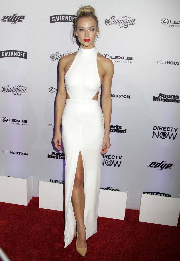 52318266 Celebrities attend the Sports Illustrated Swimsuit 2017 Launch Event in New York City, New York on February 16, 2017.  Celebrities attend the Sports Illustrated Swimsuit 2017 Launch Event in New York City, New York on February 16, 2017. Pictured: Hannah Ferguson FameFlynet, Inc - Beverly Hills, CA, USA - +1 (310) 505-9876