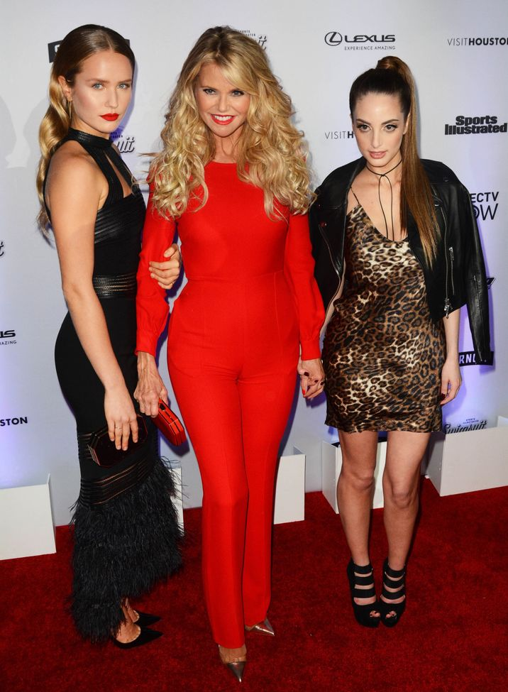 52318326 Celebrities attend the Sports Illustrated Swimsuit 2017 Launch Event in New York City, New York on February 16, 2017. Celebrities attend the Sports Illustrated Swimsuit 2017 Launch Event in New York City, New York on February 16, 2017. Pictured: Christie Brinkley, Sailer Lee, Alexa Ray Joel FameFlynet, Inc - Beverly Hills, CA, USA - +1 (310) 505-9876