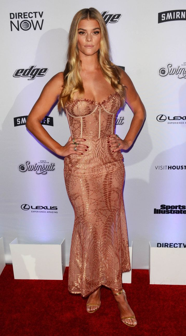 52318368 Celebrities attend the Sports Illustrated Swimsuit 2017 Launch Event in New York City, New York on February 16, 2017. Celebrities attend the Sports Illustrated Swimsuit 2017 Launch Event in New York City, New York on February 16, 2017. Pictured: Nina Agdal FameFlynet, Inc - Beverly Hills, CA, USA - +1 (310) 505-9876