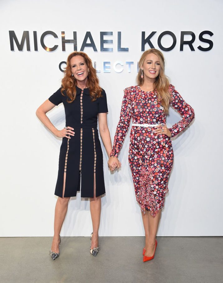 NEW YORK, NY - FEBRUARY 15:  Actors Robyn Lively (L) Blake Lively attend the Michael Kors Collection Fall 2017 runway show at Spring Studios on February 15, 2017 in New York City.  (Photo by Jamie McCarthy/Getty Images for Michael Kors)