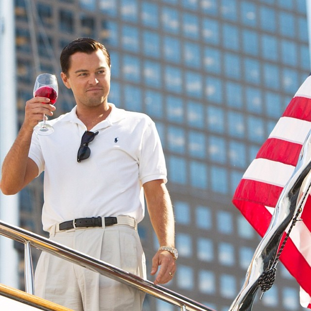 Leo DiCaprio Wolf of WallStreet