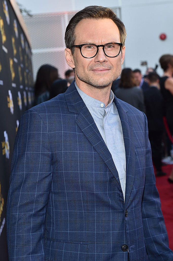 LOS ANGELES, CA - JUNE 02:  Actor Christian Slater attends the Television Academy's 70th Anniversary Gala on June 2, 2016 in Los Angeles, California.  (Photo by Mike Windle/Getty Images)