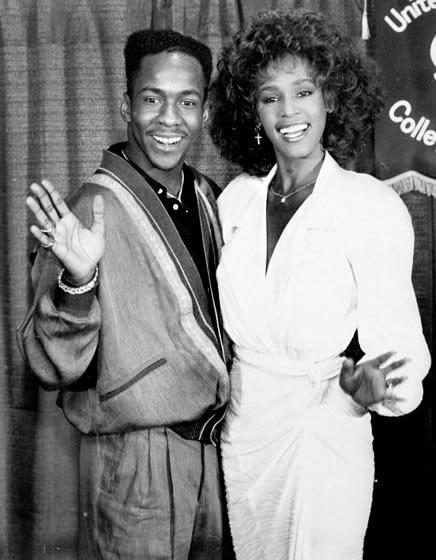 Bobby Brown şi Whitney Houston