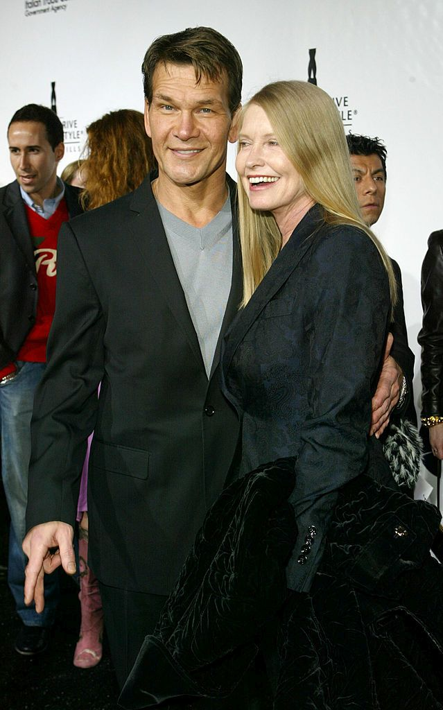 BEVERLY HILLS, CA - MARCH 20:  Actor Patrick Swayze and wife Lisa arrive at the Rodeo Drive Walk of Style Award Show on Rodeo Drive, March 20, 2005 in Beverly Hills, California.  (Photo by Michael Buckner/Getty Images)