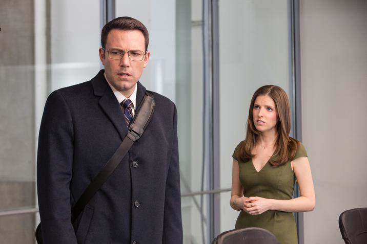 The Accountant (2016) BEN AFFLECK as Christian Wolff and ANNA KENDRICK as Dana Cummings *Filmstill - Editorial Use Only* CAP/KFS Image supplied by Capital Pictures