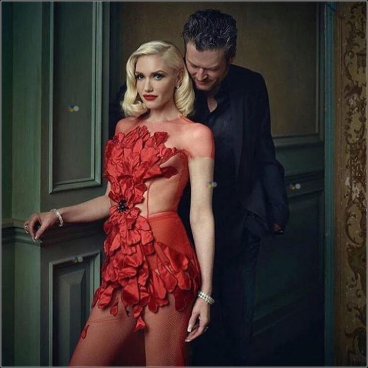 Gwen Stefani: @markseliger #vanityfairoscarparty #wow gx Supplied by Instagram.com/face to face