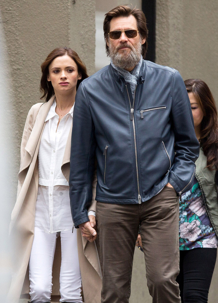 51746749 'The Bad Batch' actor Jim Carrey spotted out with a mystery woman in New York City, New York on May 18, 2015. The pair held hands as they made their way down the street. **NO AUSTRALIA OR NEW ZEALAND** 'The Bad Batch' actor Jim Carrey spotted out with a mystery woman in New York City, New York on May 18, 2015. The pair held hands as they made their way down the street. FameFlynet, Inc - Beverly Hills, CA, USA - +1 (818) 307-4813 RESTRICTIONS APPLY: NO AUSTRALIA