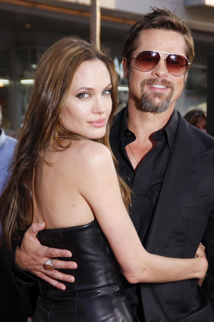 Angelina Jolie and Brad Pitt at the Los Angeles Premiere of INGLORIOUS BASTERDS held at the Grauman's Chinese Theatre in Hollywood, CA on Monday, August 10, 2009. Photo by Pedro Ulayan_Pacific Rim Photo Press / PictureLux