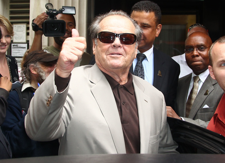 #4942573 Infamous bad boy Jack Nicholson appeared surprisingly chipper as he greeted fans and photogs with a smile and willingness to sign autographs upon leaving his New York City, New York hotel on May 3, 2010.  Fame Pictures, Inc - Santa Monica, CA, USA - +1 (310) 395-0500