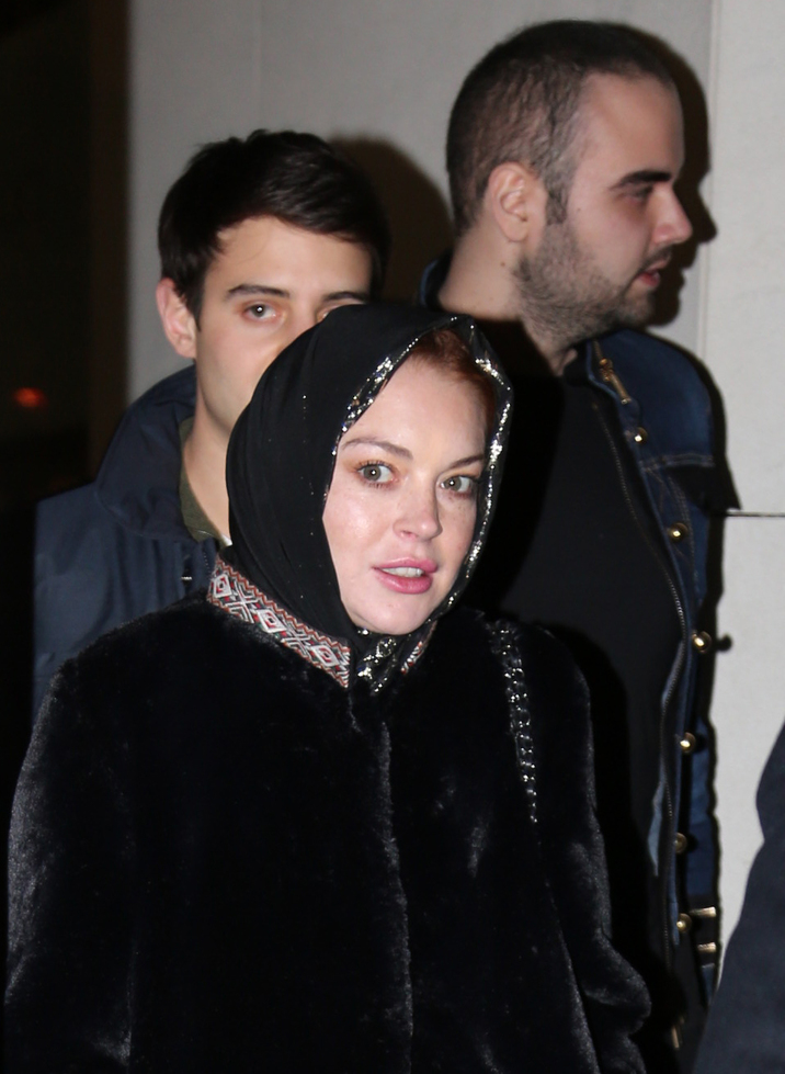 Lindsay Lohan Arriving In Istanbul - Turkey