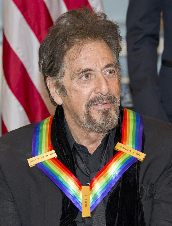 Actor Al Pacino, one of the five recipients of the 39th Annual Kennedy Center Honors, poses for a group photo following a dinner hosted by United States Secretary of State John F. Kerry in their honor at the U.S. Department of State in Washington, D.C. on Saturday, December 3, 2016. The 2016 honorees are: Argentine pianist Martha Argerich; rock band the Eagles; screen and stage actor Al Pacino; gospel and blues singer Mavis Staples; and musician James Taylor. Photo by Ron Sachs /Pool via CNP/ABACAPRESS.COM