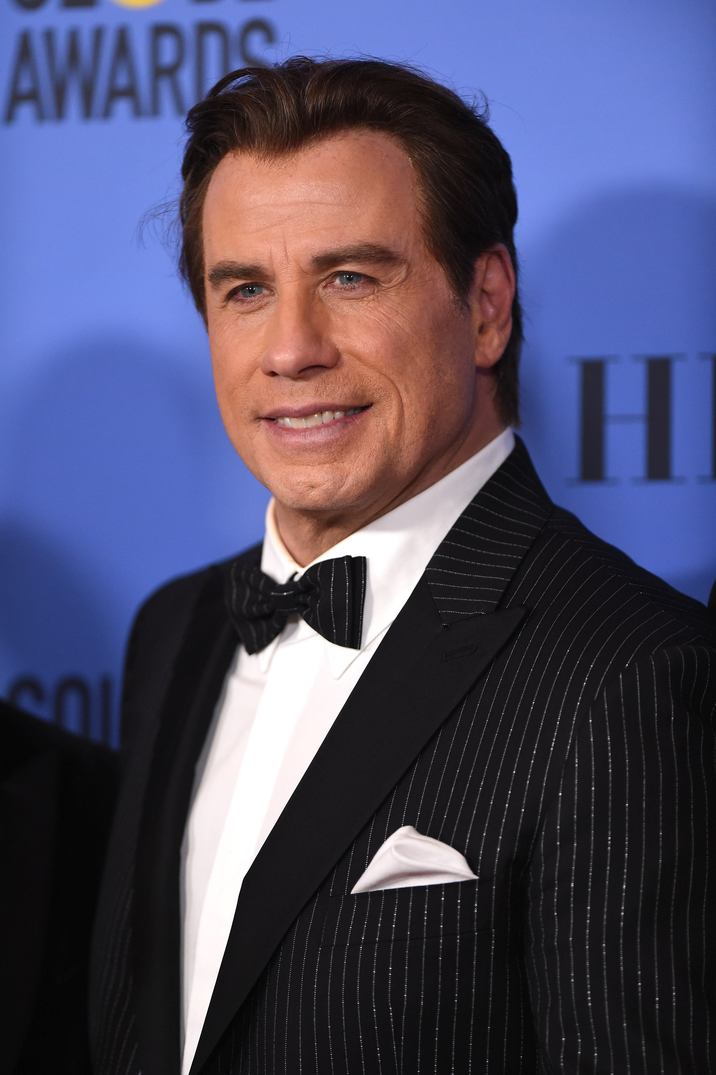 John Travolta poses in the press room during the 74th Annual Golden Globe Awards at the Beverly Hilton in Beverly Hills, Los Angeles, CA, USA, on January 8, 2017. Photo by Lionel Hahn/ABACAPRESS.COM