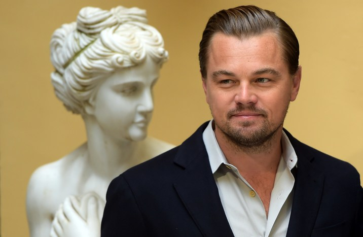 US actor Leonardo Di Caprio attends the photocall of the film 'The Revenant' in Rome, Italy on January 16, 2016. Photo by Eric Vandeville/ABACAPRESS.COM