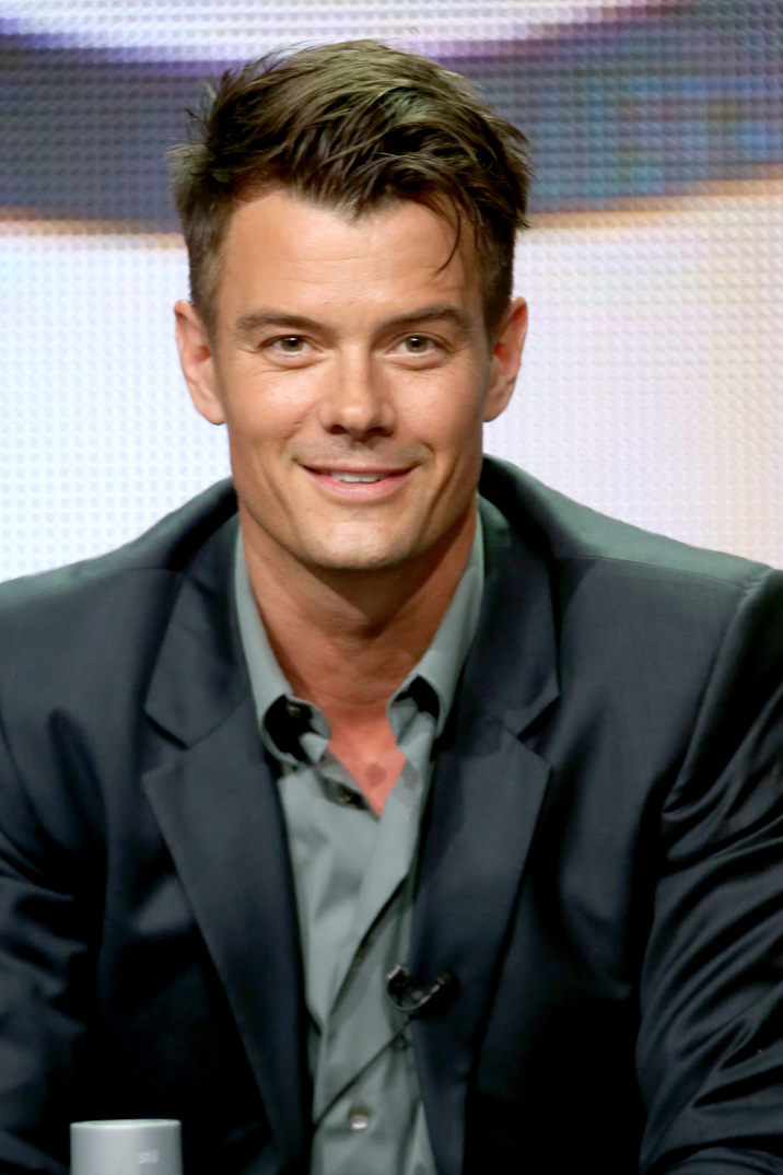 "BEVERLY HILLS, CA - JULY 17:  Actor Josh Duhamel speaks onstage at the ""Battle Creek"" panel during the CBS Network portion of the 2014 Summer Television Critics Association at The Beverly Hilton Hotel on July 17, 2014 in Beverly Hills, California.  (Photo by Frederick M. Brown/Getty Images)"