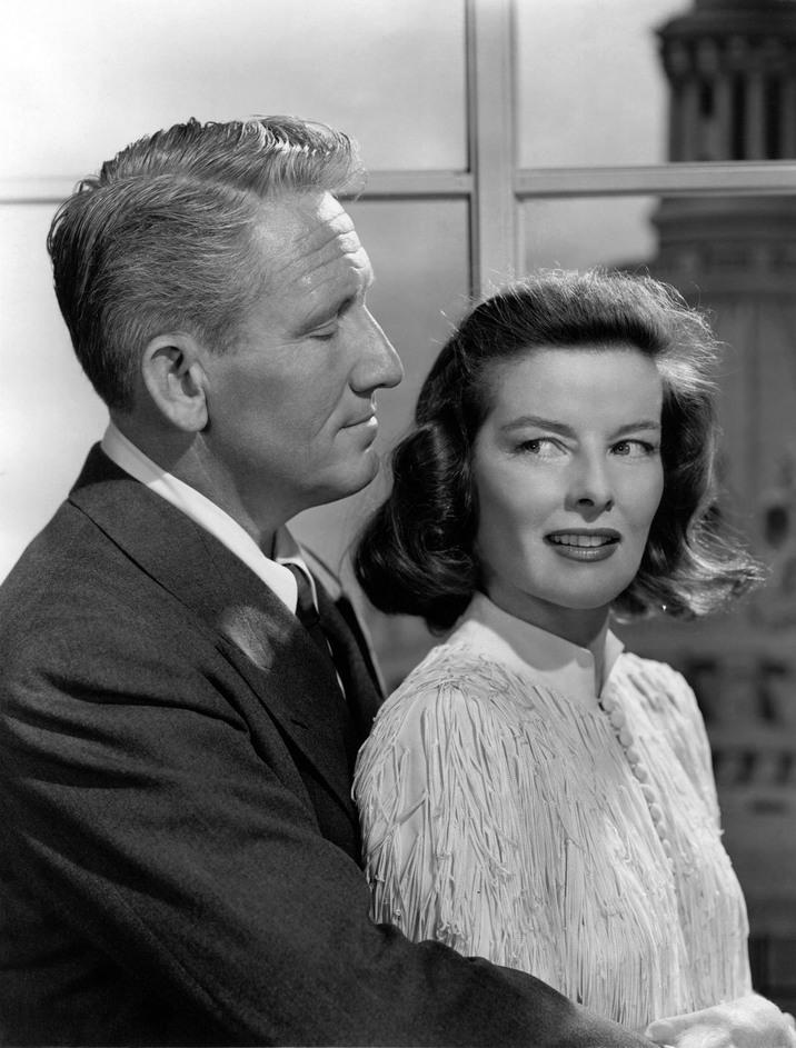 Katharine şi Spencer Tracy, marea dragoste a vieţii ei.