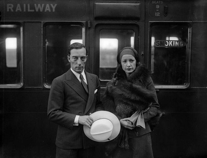 Buster şi Natalie Talmadge - un mariaj care i-a dat mână liberă la studiourile de film, dar care i-a adus şi multă nefericire.