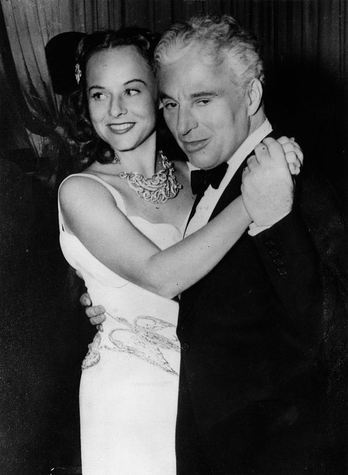 Charlie şi Paulette Goddard