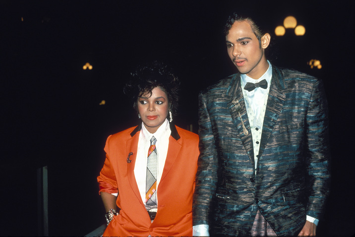 UNITED STATES - SEPTEMBER 03:  Janet Jackson and James DeBarge in July 1984  (Photo by Vinnie Zuffante/Getty Images)