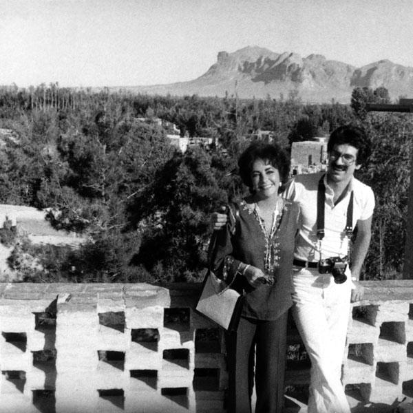 Firooz şi Liz, în vacanţă în Iran.