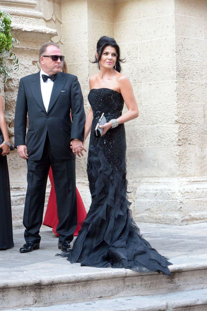 Gäste, Hochzeit Cristel Carrisi (Tochter von Al Bano und Romina) mit Davor Luksic in der Cattedrale San. Matteo in Lecce (Apulien)  / 030916  ***Wedding of Cristel Carrisi and Davor Luksic in Lecce, September 3rd, 2016***