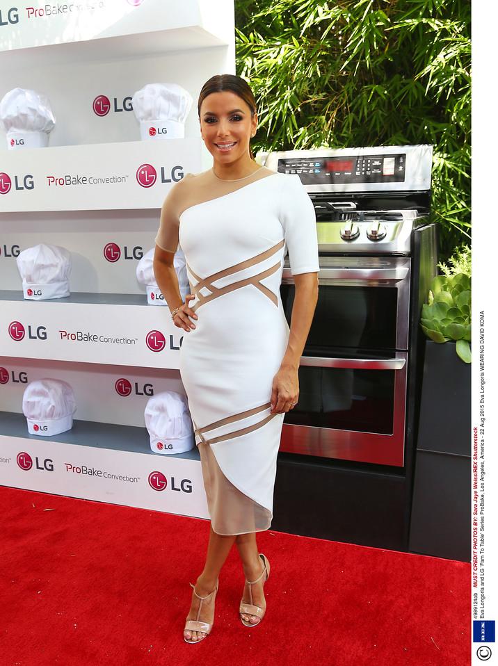 Eva Longoria and LG 'Fam To Table' Series ProBake, Los Angeles, America - 22 Aug 2015