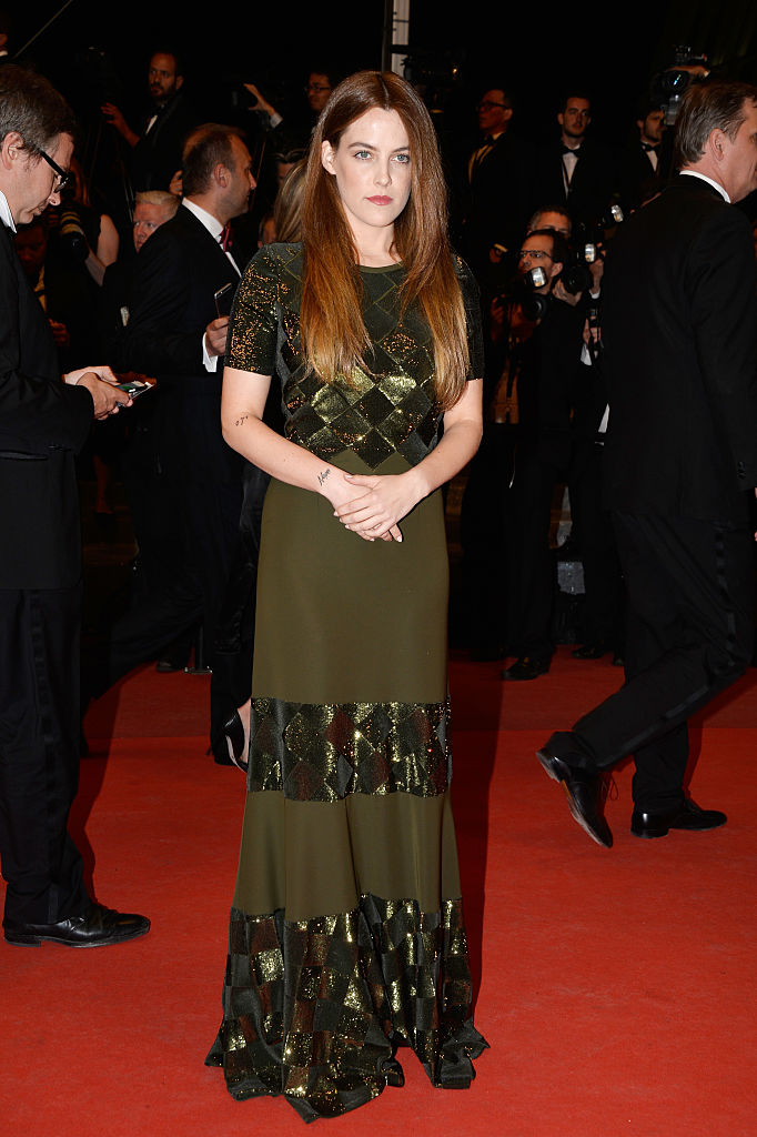 "CANNES, FRANCE - MAY 17:  Riley Keough attends the ""Personal Shopper"" premiere during the 69th annual Cannes Film Festival at the Palais des Festivals on May 17, 2016 in Cannes, France.  (Photo by Pascal Le Segretain/Getty Images)"