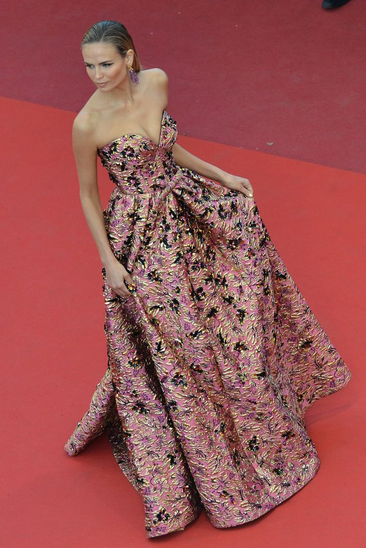 "Natasha Poly - Montée des marches du film ""Julieta"" lors du 69ème Festival International du Film de Cannes. Le 17 mai 2016. Red carpet for the movie ""Julieta"" during the 69th Cannes International Film festival. On may 17th 2016"