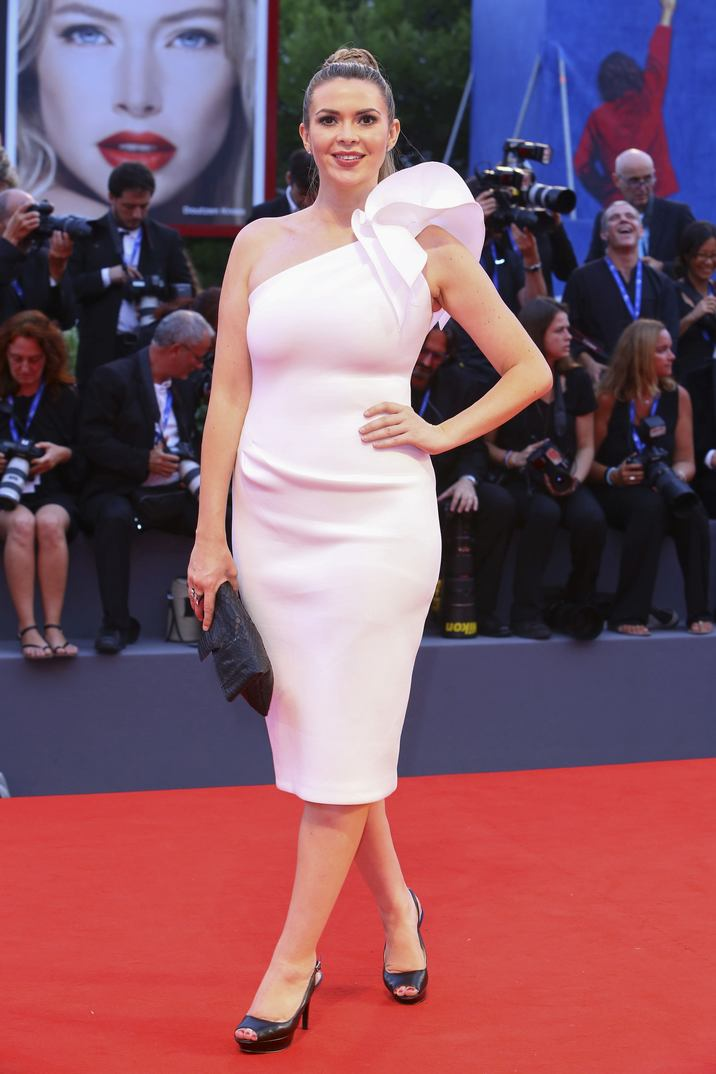 Carly Steel walking the red carpet for the premiere of the film Hacksaw Ridge as part of the 73rd Venice International Film Festival (Mostra) in Venice, Italy; on September 4, 2016. Photo by Marco Piovanotto/ABACAPRESS.COM