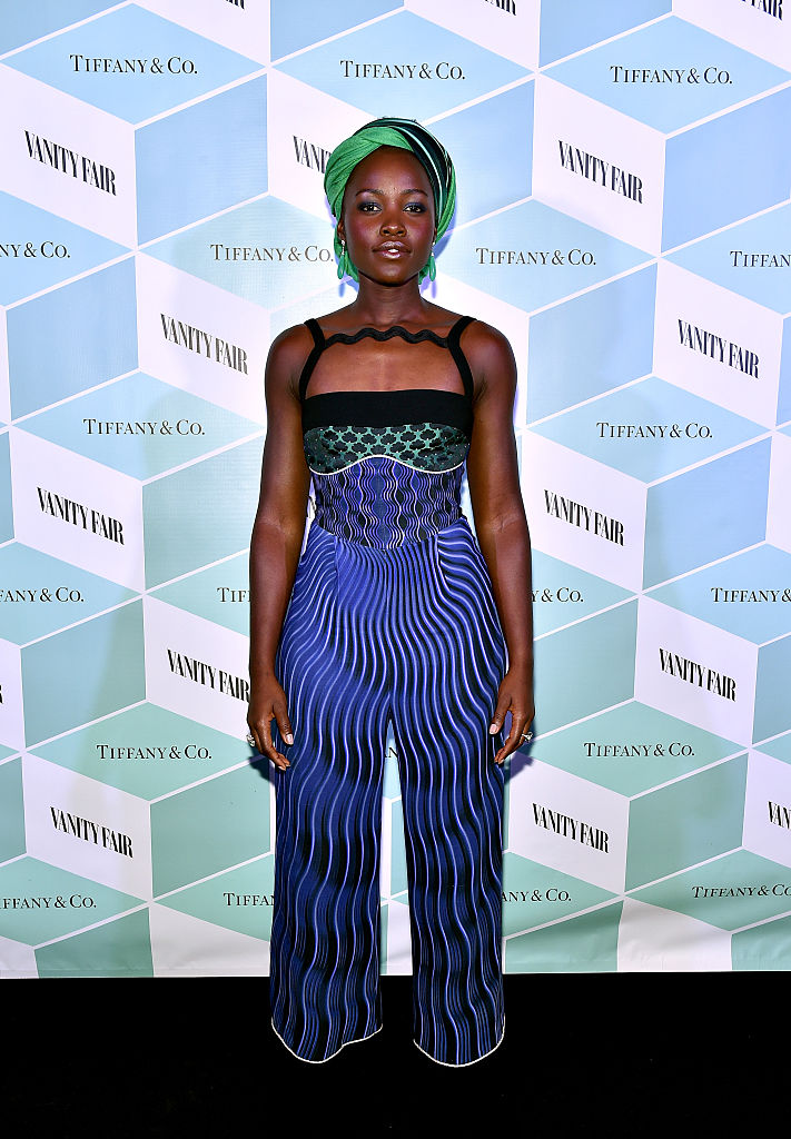 TORONTO, ON - SEPTEMBER 11:  Actress Lupita Nyong'o attends the Vanity Fair and Tiffany & Co. private dinner toasting Lupita Nyong'o and celebrating Legendary Style at Shangri-La Hotel on September 11, 2016 in Toronto, Canada.  (Photo by Mike Windle/Getty Images for Vanity Fair)