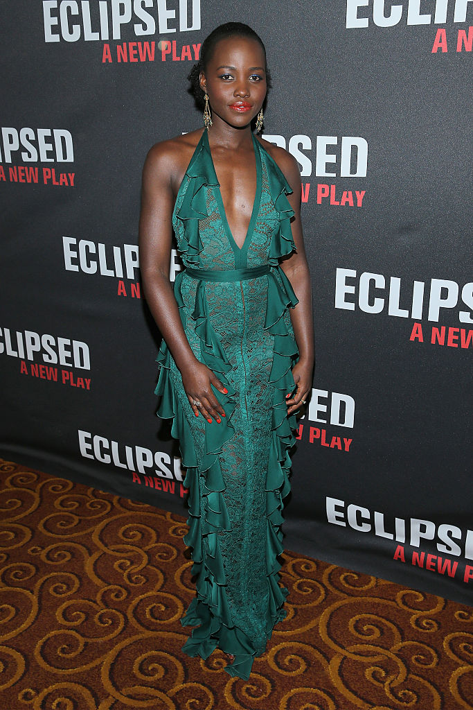 "NEW YORK, NY - MARCH 06:  Actress Lupita Nyong'o attends the ""Eclipsed"" broadway opening night after party at Gotham Hall on March 6, 2016 in New York City.  (Photo by Jemal Countess/Getty Images)"